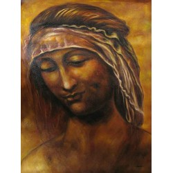 St. Anne 2 by Leonardo Da Vinci - Art gallery oil painting reproductions