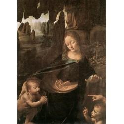 Virgin of the Rocks, detail by Leonardo Da Vinci-Art gallery oil painting reproductions
