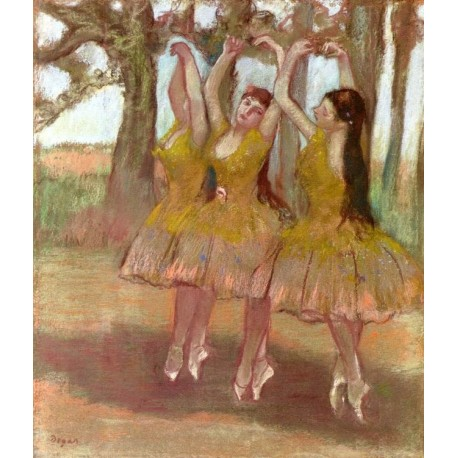 A Grecian Dance by Edgar Degas-Art gallery oil painting reproductions