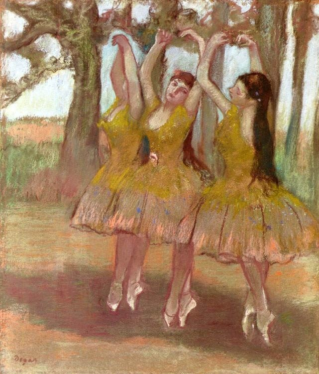 A Grecian Dance By Edgar Degas Art Gallery Oil Painting Reproductions