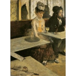 Absinthe by Edgar Degas-Art gallery oil painting reproductions