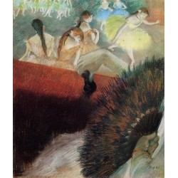 At the Ballet by Edgar Degas-Art gallery oil painting reproductions