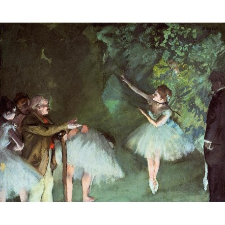 Ballet Rehearsal by Edgar Degas- Art gallery oil painting reproductions