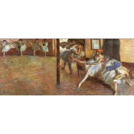 Ballet Rehearsal 1891 by Edgar Degas-Art gallery oil painting reproductions
