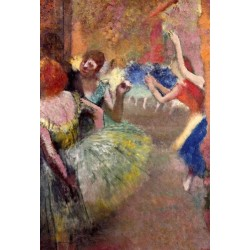 Ballet Scene I by Edgar Degas-Art gallery oil painting reproductions