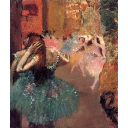 Ballet Scene II by Edgar Degas-Art gallery oil painting reproductions