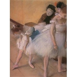 Before the Rehearsal by Edgar Degas - Art gallery oil painting reproductions