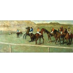 Before the Start I by Edgar Degas - Art gallery oil painting reproductions