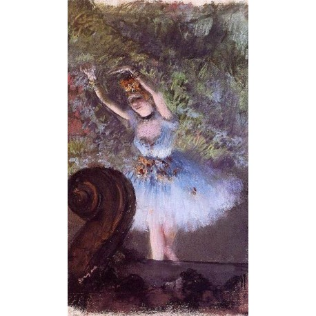 Dancer III by Edgar Degas - Art gallery oil painting reproductions
