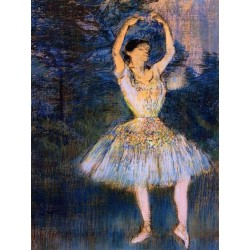 Dancer with Raised Arms by Edgar Degas - Art gallery oil painting reproductions