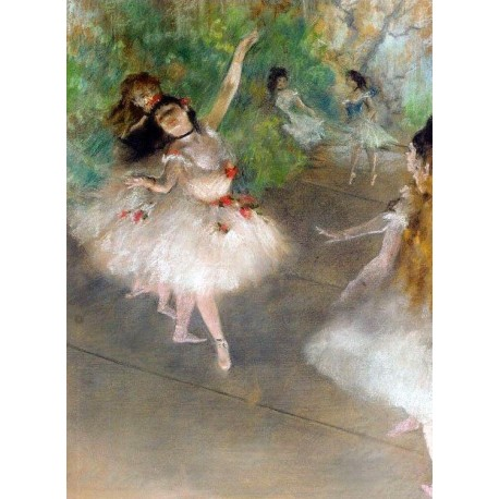 Dancers by Edgar Degas - Art gallery oil painting reproductions