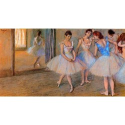 Dancers in the Studio by Edgar Degas - Art gallery oil painting reproductions