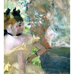 Dancers in the Wings 2 by Edgar Degas - Art gallery oil painting reproductions