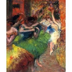Dancers in the Wings II by Edgar Degas - Art gallery oil painting reproductions