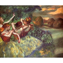 Four Dancers by Edgar Degas - Art gallery oil painting reproductions
