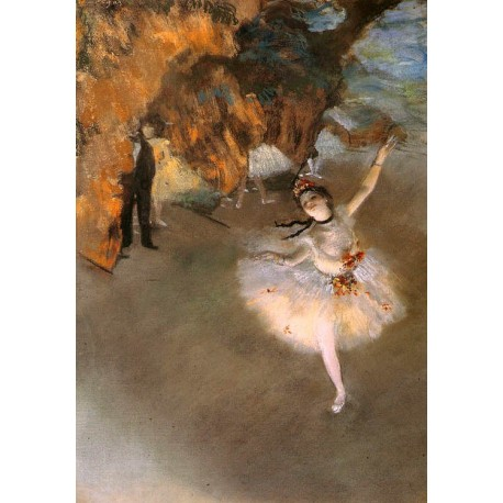 L Etoile by Edgar Degas - Art gallery oil painting reproductions