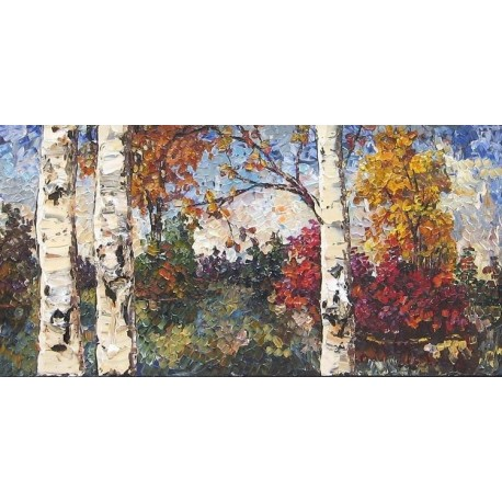 Maya Eventov Colours of Autumn by Edgar Degas - Art gallery oil painting reproductions