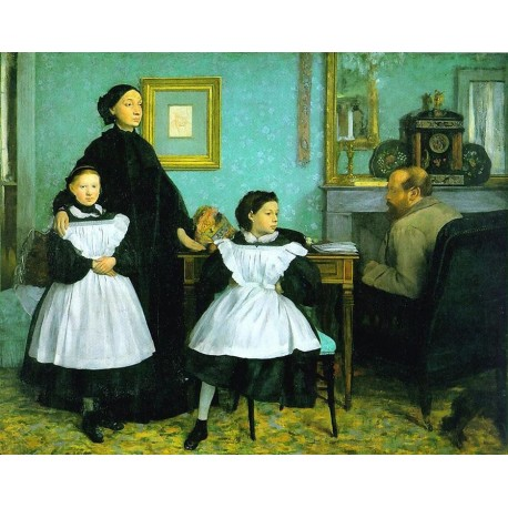 The Bellelli Family by Edgar Degas - Art gallery oil painting reproductions