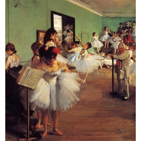 The Dance Class II by Edgar Degas - Art gallery oil painting reproductions