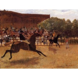 The False Start by Edgar Degas - Art gallery oil painting reproductions