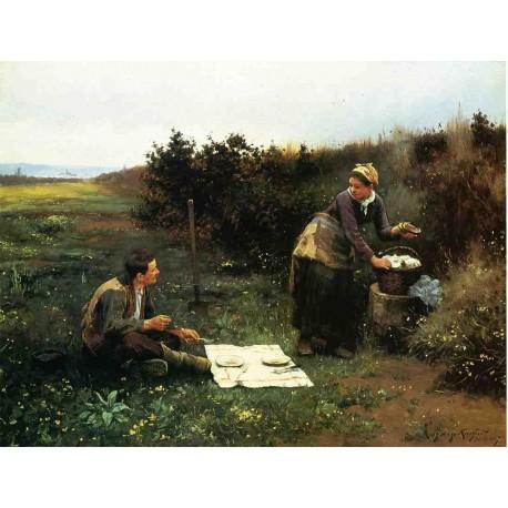 The Honeymoon Breakfast by Edgar Degas - Art gallery oil painting reproductions