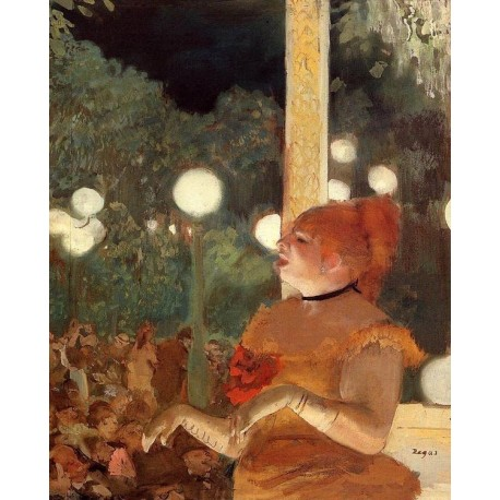 The Song of the Dog by Edgar Degas - Art gallery oil painting reproductions