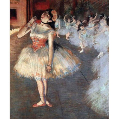 The Star by Edgar Degas - Art gallery oil painting reproductions