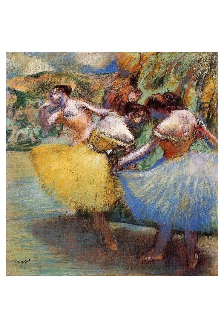 Three Dancers Ii By Edgar Degas Art Gallery Oil Painting