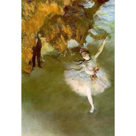 The Star I by Edgar Degas - Art gallery oil painting reproductions