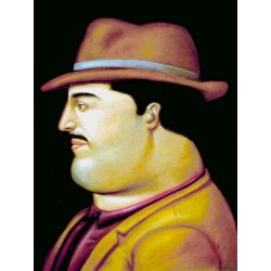 Colombiano By Fernando Botero - Art gallery oil painting reproductions
