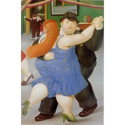 Dancers 1987 By Fernando Botero - Art gallery oil painting reproductions