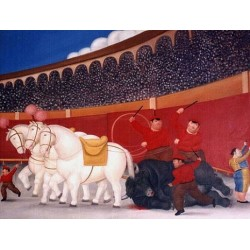 El Arrastre By Fernando Botero - Art gallery oil painting reproductions