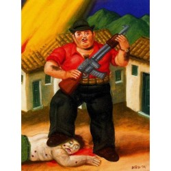 El cazador By Fernando Botero - Art gallery oil painting reproductions