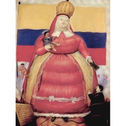 Exvoto By Fernando Botero - Art gallery oil painting reproductions