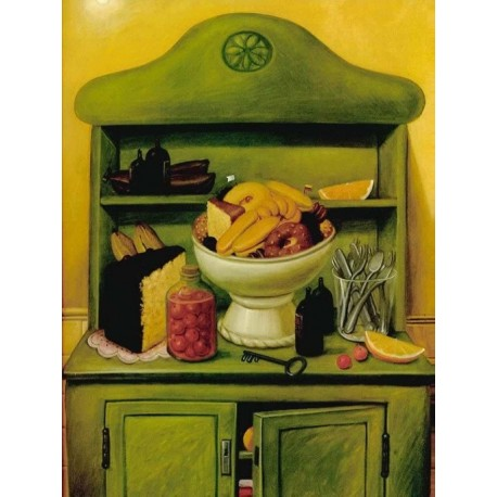 La alacena By Fernando Botero - Art gallery oil painting reproductions