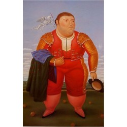 Matador 1985 By Fernando Botero - Art gallery oil painting reproductions
