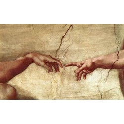 Creation of Adam Hand by Michelangelo- Art gallery oil painting reproductions