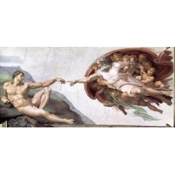 Creation of Adam by Michelangelo- Art gallery oil painting reproductions