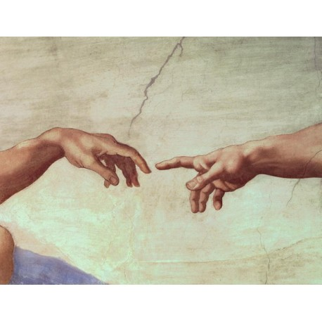 The Creation of Adam Hand by Michelangelo- Art gallery oil painting reproductions