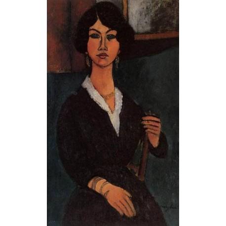 Almaisa by Amedeo Modigliani