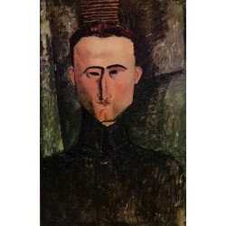 Andre Rouveyre by Amedeo Modigliani oil painting art gallery