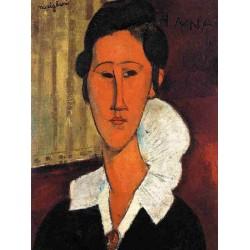 Anna (Hanka) Zborowska by Amedeo Modigliani oil painting art gallery