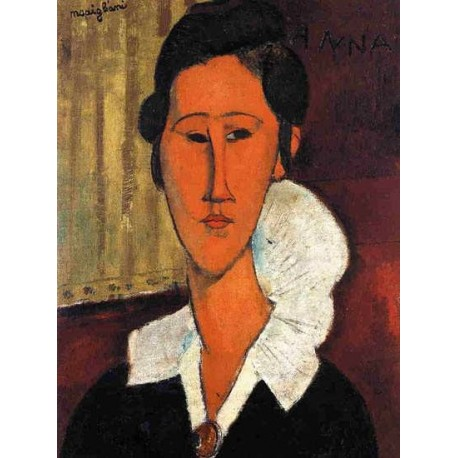 Anna (Hanka) Zborowska by Amedeo Modigliani