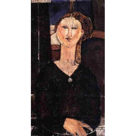 Antonia by Amedeo Modigliani oil painting art gallery