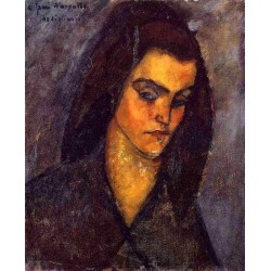 Beggar Woman by Amedeo Modigliani oil painting art gallery