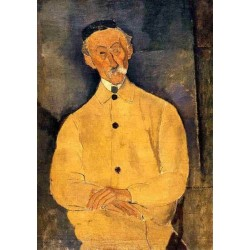 Constant Leopold by Amedeo Modigliani oil painting art gallery