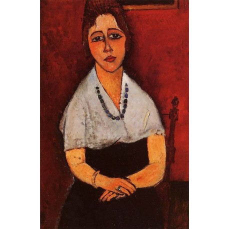 Elena Picard by Amedeo Modigliani oil painting art gallery