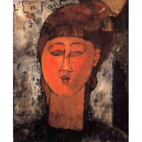 Fat Child by Amedeo Modigliani