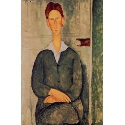 Giovanotto dai Capelli Rosse by Amedeo Modigliani