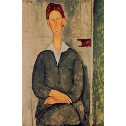 Giovanotto dai Capelli Rosse by Amedeo Modigliani oil painting art gallery